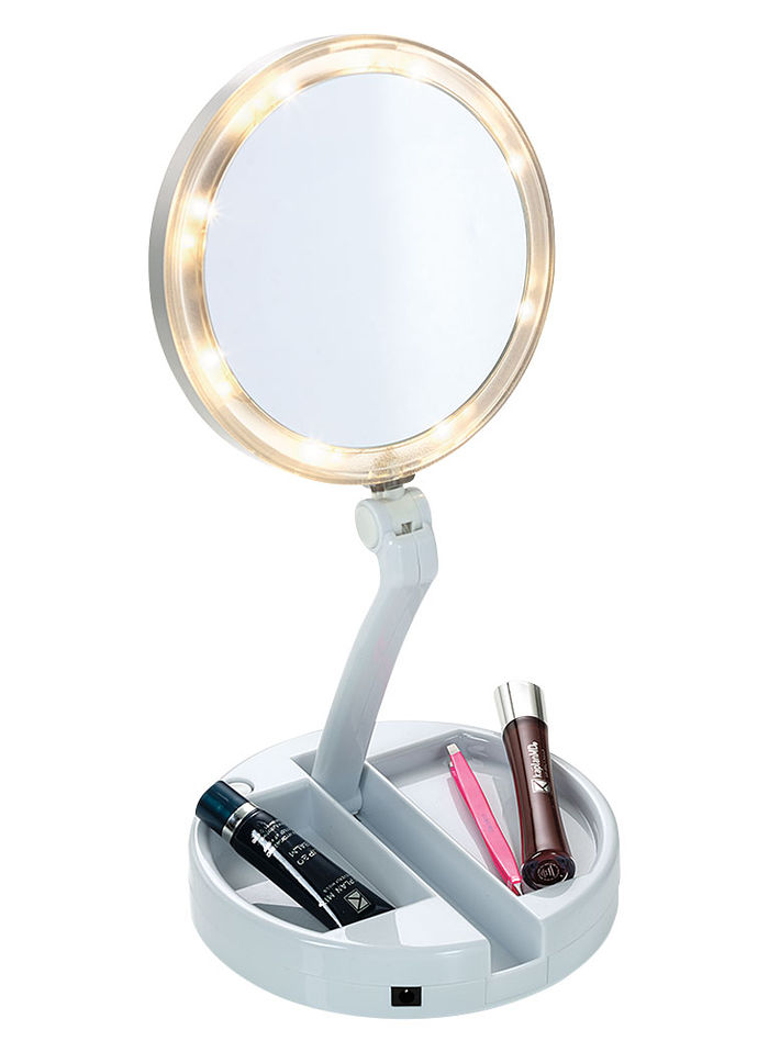 12x Lighted Folding Mirror Time For Me Catalog