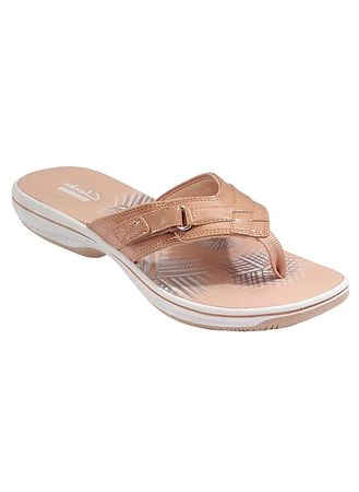 clarks breeze lane flip flops