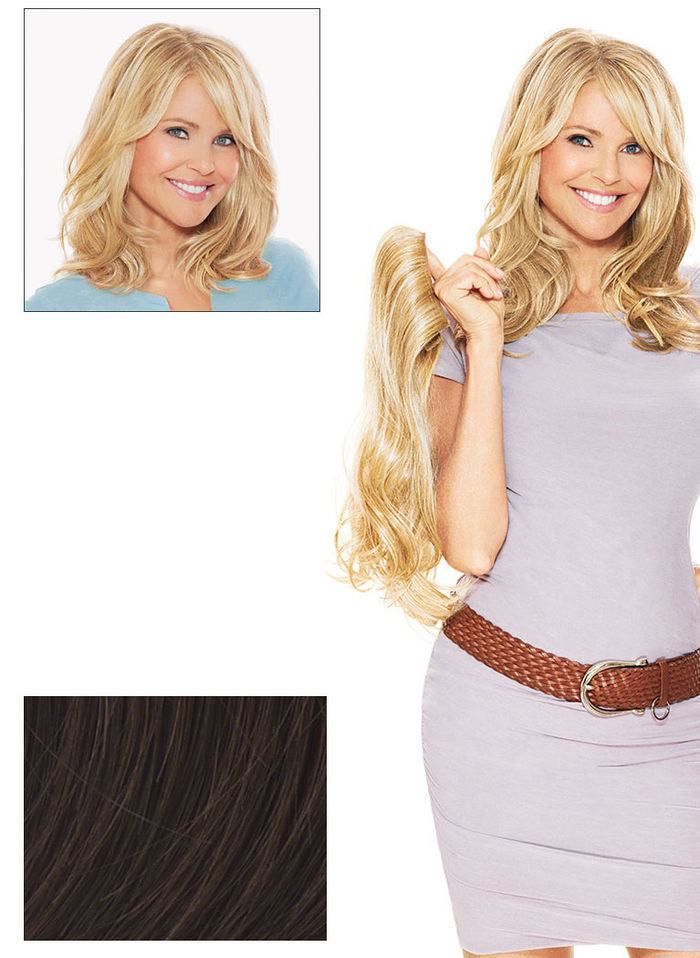 "Christie Brinkley Collection 12"" Hair Extensions"