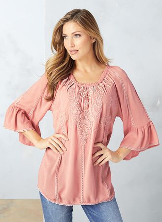 Main Pretty Peasant Top