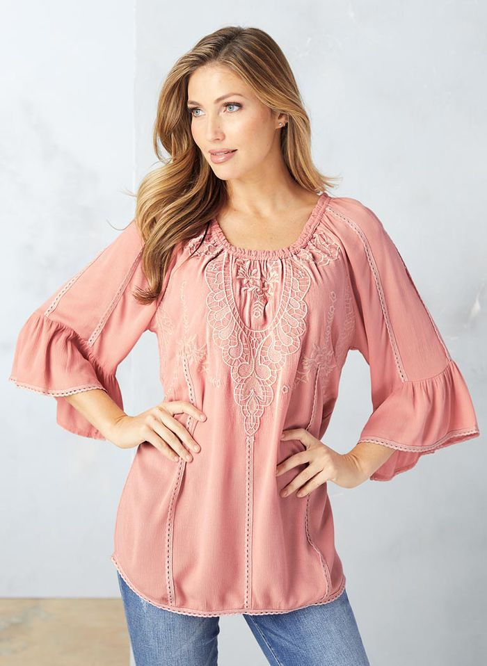 Pretty Peasant Top