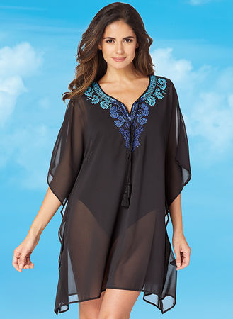 Main Miraclesuit® Beaded Caftan