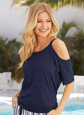 Main Cold-Shoulder Tunic