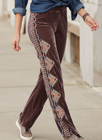Main Aubrey Embroidered Pants