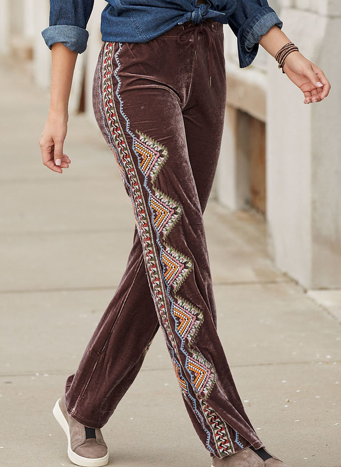 Aubrey Embroidered Pants