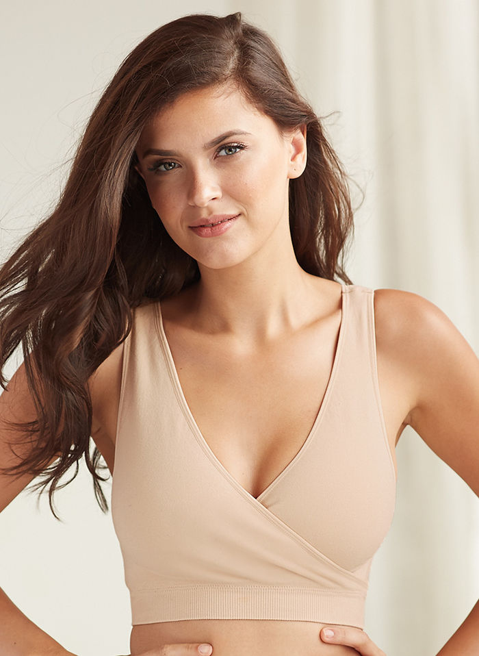 Leading Lady® Crossover Comfort Bra